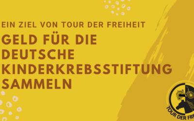 Geld für die Deutsche Kinderkrebsstiftung sammeln